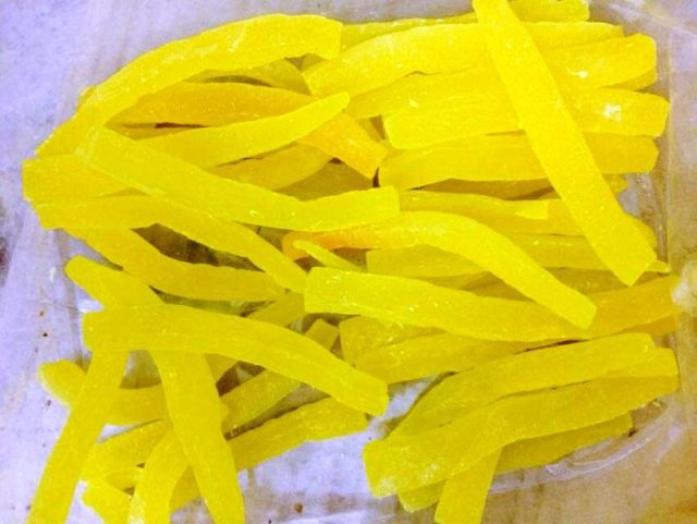 Папайя сушеная (желтая)