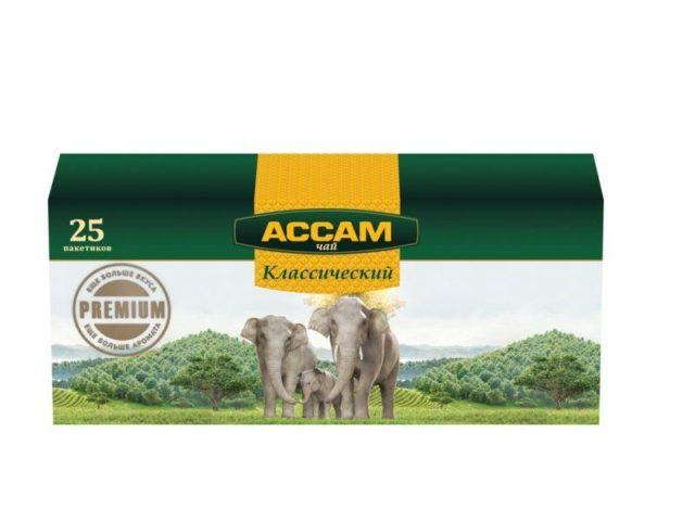 Чай Assam 25 пакет