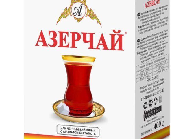 Чай Азерчай с бергамотом 100 гр