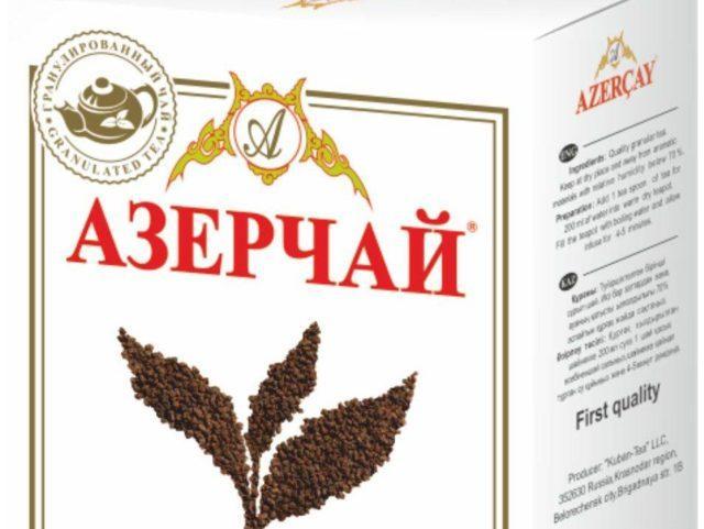 Чай Азерчай гранулированный 100 гр