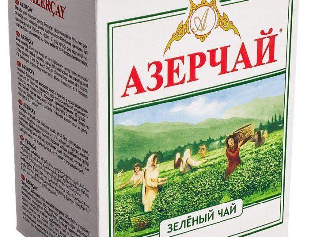 Чай Азерчай зеленый 100 гр