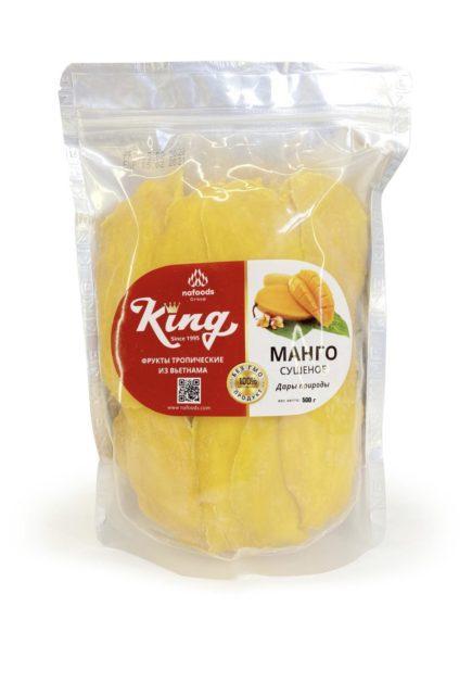 Манго натуральное King 500 гр