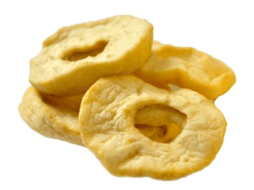 Сушеные яблоки кольца