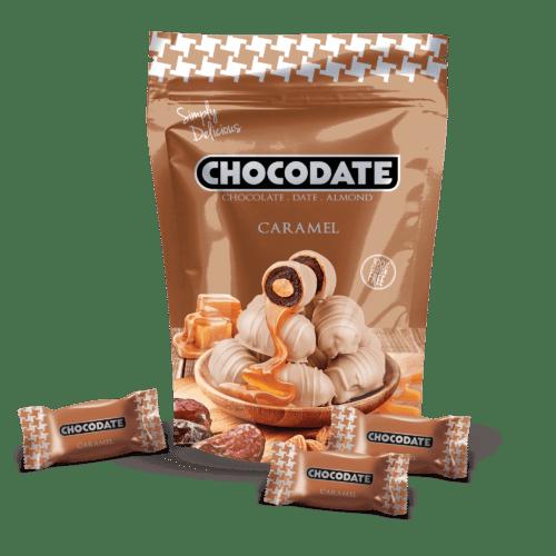 Финики в шоколаде со вкусом карамели CHOCODATE 250 грамм