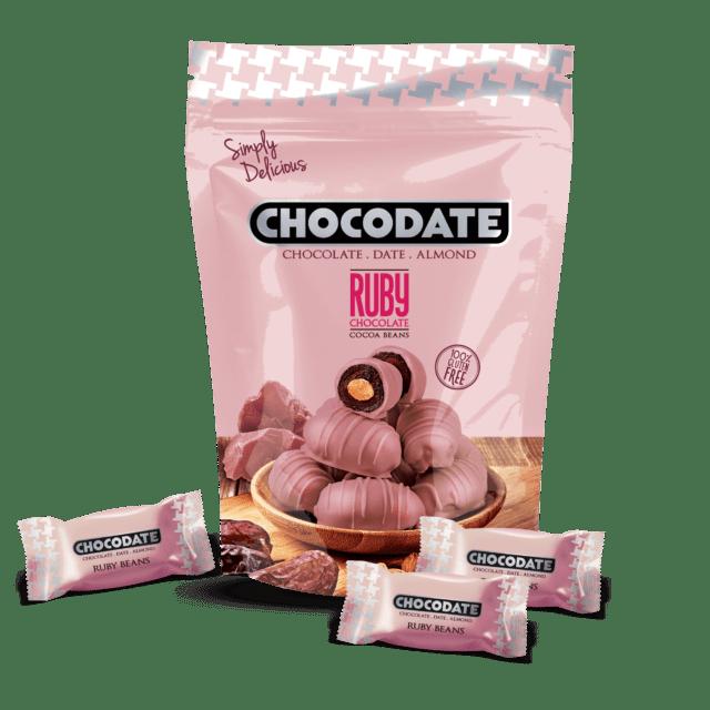 CHOCODATE со вкусом рубиновых бобов 250 грамм